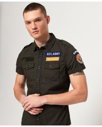 Superdry - Army Corps Lite Short Sleeve Shirt - Lyst