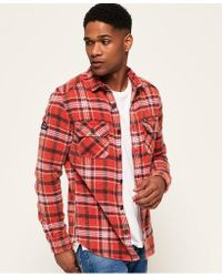 Superdry - Merchant Milled Shirt - Lyst