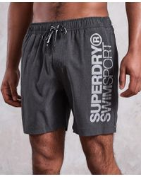 Superdry - Sd Sports Volley Swim Shorts - Lyst