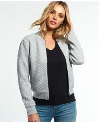 Superdry - Micro Quilt Bomber Jacket - Lyst