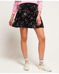 Superdry - Printed Rydell Skirt - Lyst