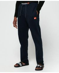 Superdry - Sd Laundry Organic Cotton Sweat Trousers - Lyst
