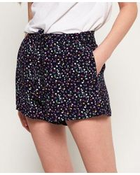 Superdry - Taylor Skater Culottes Shorts - Lyst