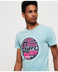 Superdry - Acid Graphics Mid Weight T-shirt - Lyst