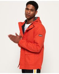 Superdry - New York Harbour Coat - Lyst