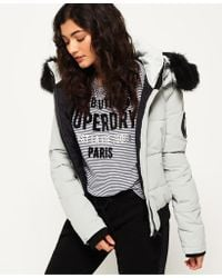 Superdry - Everest Ella Bomber Jacket - Lyst