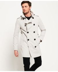 Superdry - Premium Rogue Trench Coat - Lyst