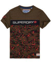 Superdry - Trophy Camo Splat T-shirt - Lyst