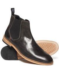 Superdry - Premium Meteora Chelsea Boots - Lyst