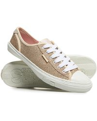 Superdry - Low Pro Glitter Trainers - Lyst