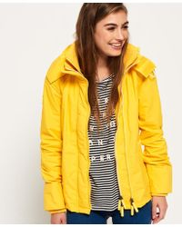 Superdry - Technical Hooded Pop Zip Sd-windcheater Jacket - Lyst