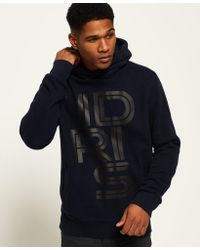 Superdry - Ie Iconic Graphic Hoodie - Lyst