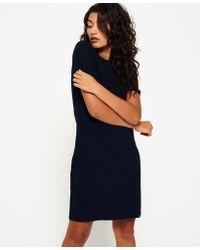 Superdry - Zip Back T-shirt Dress - Lyst