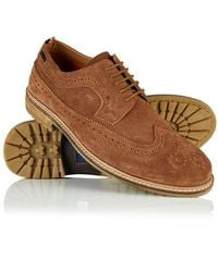 Superdry - Brad Brogue Shoes - Lyst