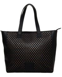 Superdry - Elaina Star Perforated Tote Bag - Lyst