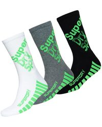 Superdry - Sport Mid Athletic Triple Pack - Lyst