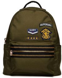 Superdry - Patched Midi Backpack - Lyst