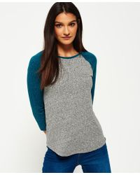 Superdry - Imperial Baseball Top - Lyst