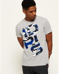 Superdry - Ie Iconic Graphic Short Sleeve T-shirt - Lyst