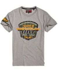 Superdry - Custom Tin Tab Lite T-shirt - Lyst