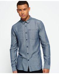 Superdry - Tweed Riveter Shirt - Lyst