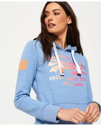 Superdry - Shirt Shop Fade Hoodie - Lyst