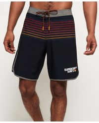 Superdry - Upstate Retro Boardshorts - Lyst