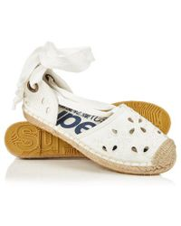 Superdry - Lola Lace Up Espadrilles - Lyst