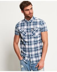 Superdry - Washbasket Short Sleeve Shirt - Lyst