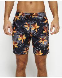 Superdry | Vacation Paradise Swim Shorts | Lyst