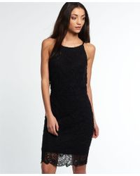 Superdry - Racy Lacy Dress - Lyst