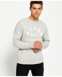 Superdry - Surplus Goods Low Rider Crew Jumper - Lyst