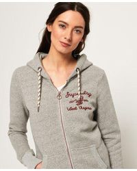 Superdry - Rylee Embroidered Zip Hoodie - Lyst