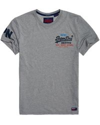 8568a554e020c7 Lyst - Superdry Standard Issue T-shirt in Gray for Men
