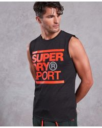 Superdry - Core Graphic Tank Top - Lyst