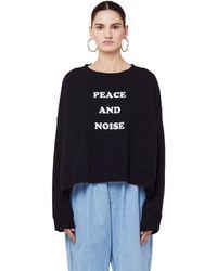 Undercover - Black Peace & Noise Sweatshirt - Lyst