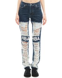 Hood By Air - Cotton Jeans - Lyst