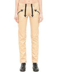 KTZ - Faux Leather Trousers - Lyst