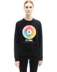 Mary Katrantzou - Cotton Sweatshirt - Lyst