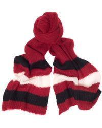 Undercover - Mohair And Nylon Scarf - Lyst