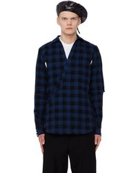 The Soloist - Checkered Wrap Shirt - Lyst