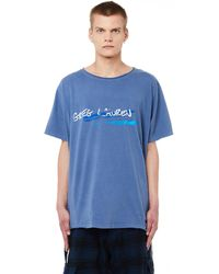 Greg Lauren - Classic Gl Printed Cotton T-shirt - Lyst