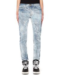 Fear Of God Blue Holy Water Selvedge Denim Jeans
