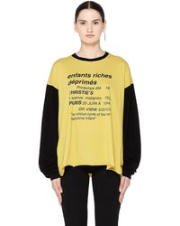 Enfants Riches Deprimes - 'vicious Cycle' Long Sleeve T-shirt - Lyst