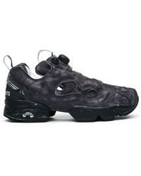 Vetements - Reebok Instapump Fury Black Trainers - Lyst
