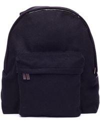 Yohji Yamamoto - Black Wool Backpack - Lyst d41b18c54b