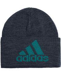 55ad2b4225d Lyst - Gosha Rubchinskiy Black Adidas Originals Edition Knit Beanie ...