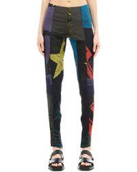 A.F.Vandevorst - Silk Trousers - Lyst
