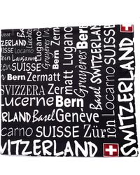 Vetements - 'switzerland' Fleece Scarf - Lyst