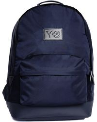 Y-3 - Navy Blue Techlight Backpack - Lyst